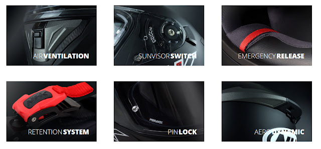 Sekilas Tentang Helm NHK GP Prime: Helm Full Face Terbaru 2021