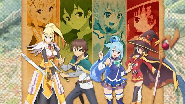 KonoSuba: Quando será lançado a 3ª temporada?