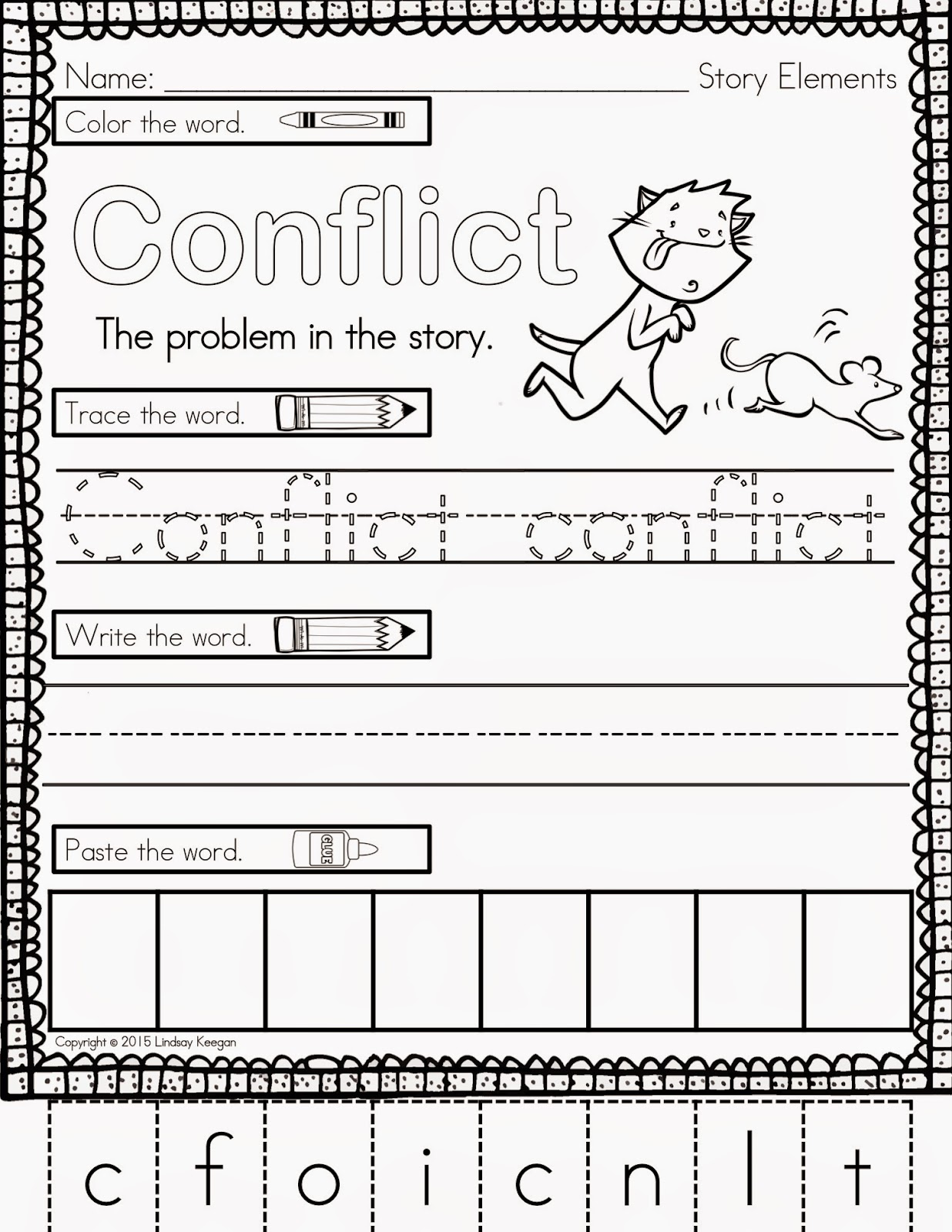 Keeping It Cool At School Teaching Story Elements And A