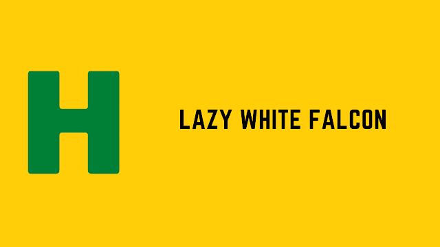 HackerRank Lazy White Falcon problem solution