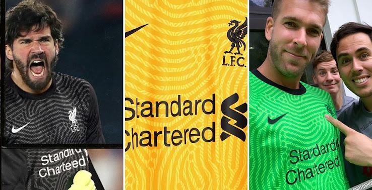 Nike Liverpool 20 21 Goalkeeper Home Away Third Kits Revealed Footy Headlines
