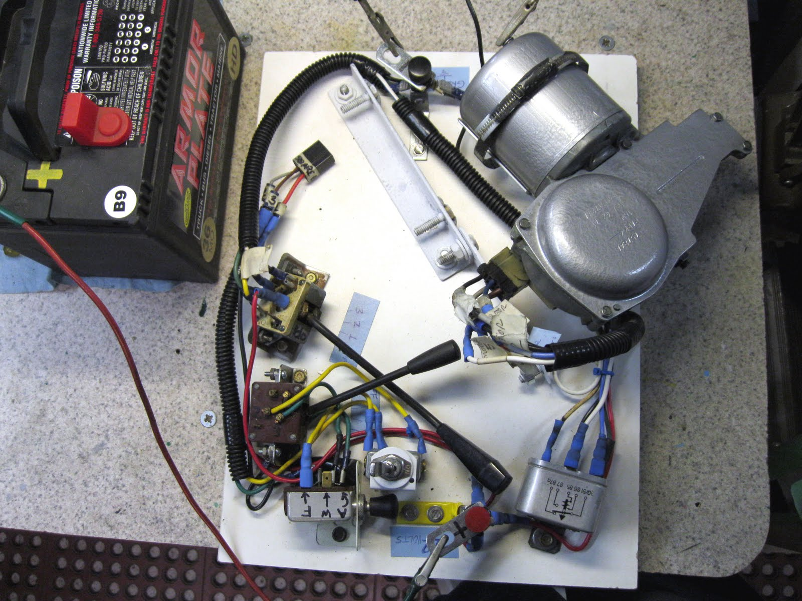 lucas motor parts
