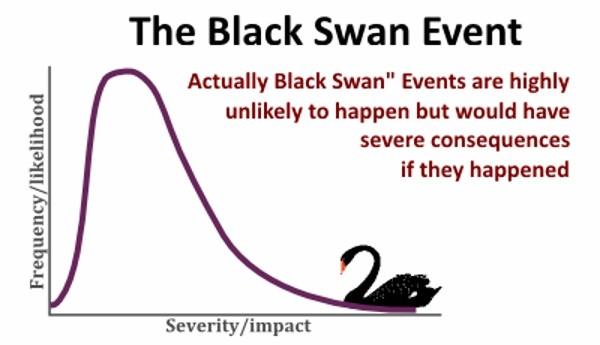 Prepararsi per un possibile evento Cigno Nero nelle prossime settimane o mesi