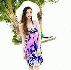 Model Dress Pendek Pantai Wanita Terbaru