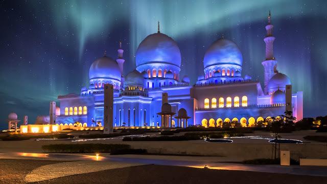 wallpaper masjid 3d