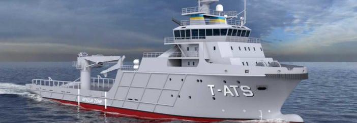ВМС США закладає перше рятувальне судно класу Навахо