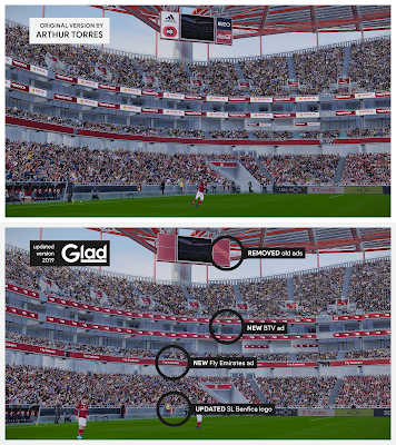PES 2020 Stadium Estádio da Luz Updated 2019 Version