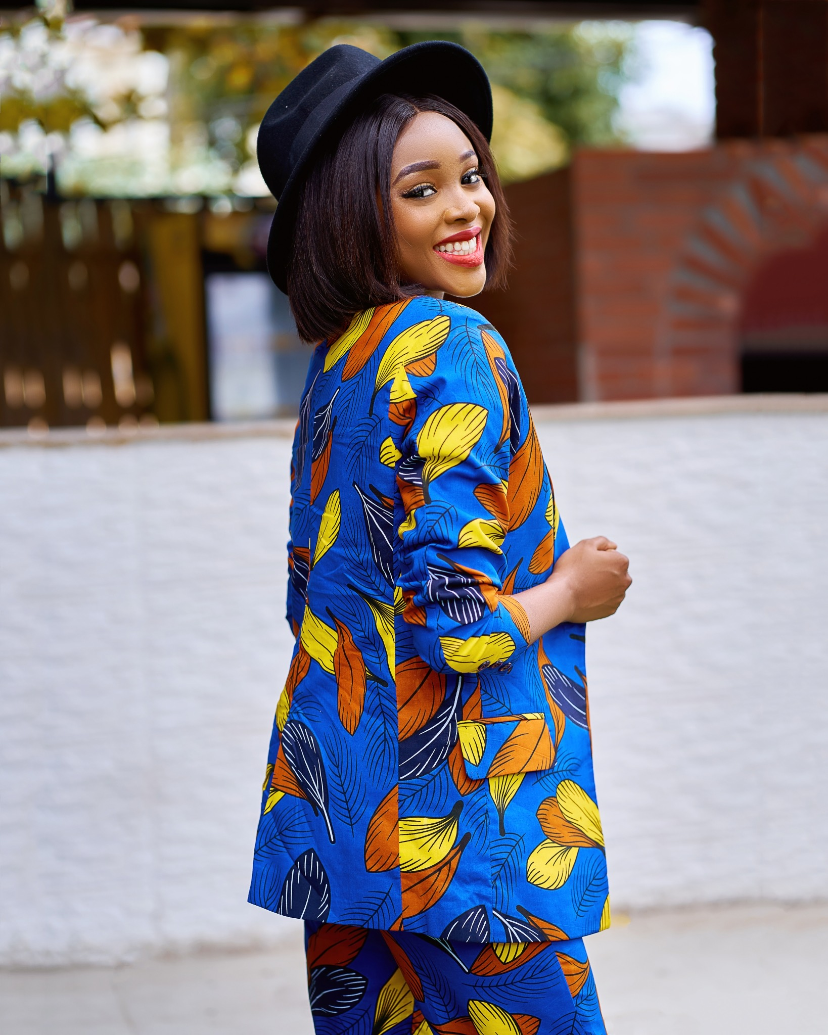 African print suits for ladies