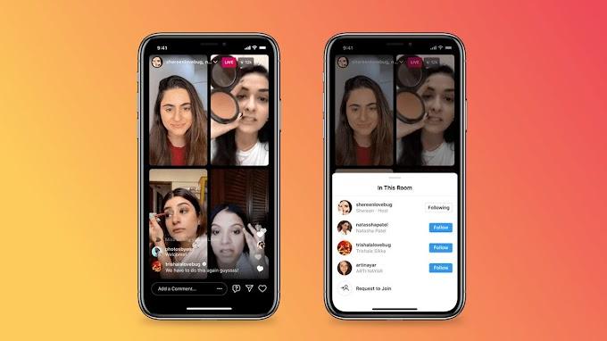 Instagram Melancarkan Ciri Bilik Langsung, Pengguna Boleh Menyiarkan IG Live Berempat