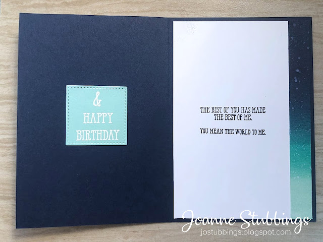 Jo's Stamping Spot - Father's Day 2019 using Sailing Home stamp set by Stampin' Up!