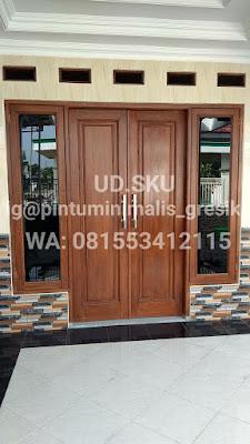 pintu kuputarung utama minimalis gresik surabaya sidoarjo mojokerto lamongan