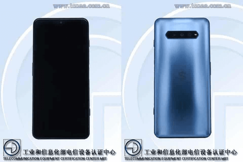 Black Shark 4 design spotted on TENAA, the gaming beast of 2021?