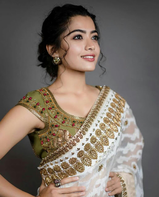Rashmika Mandanna HD Photos Saree