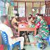 Kesiapan TMMD ke-110, Babinsa Komsos Bersama Kepala Desa Bukit Pamewa