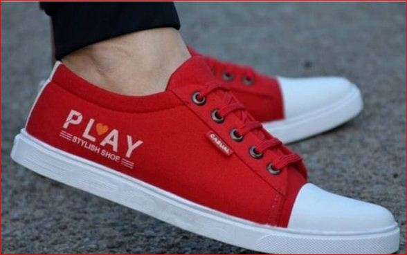 Ultra High Fashion Canvas Sneakers Shoes