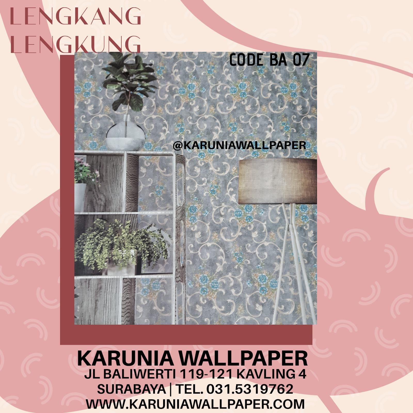jual hiasan wallpaper lengkung klasik