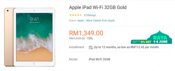 Promosi Ramadan Apple Store Lazada Malaysia