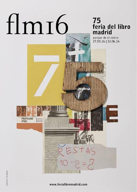 flm16, 75 feria del libro de Madrid, Parque del Retiro