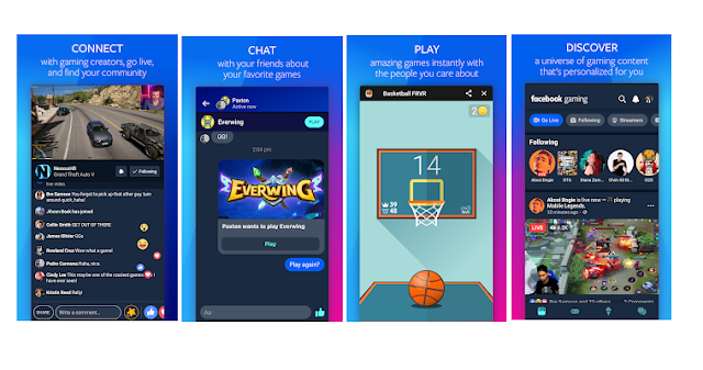 Aplikasi Facebook Gaming  sudah Rilis di playstor
