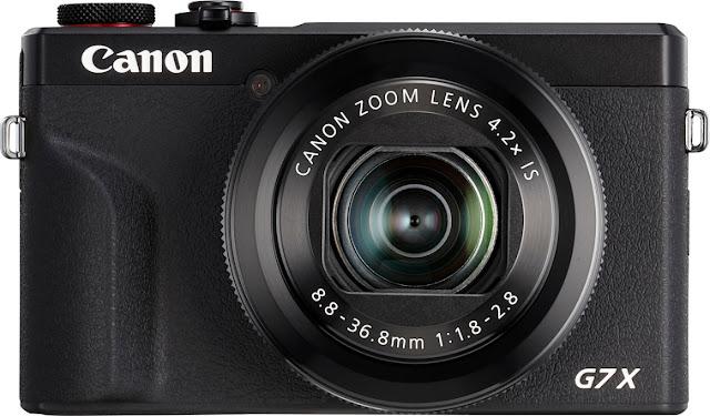 Great Vlogging Camera: Canon PowershotG7 X Mark3
