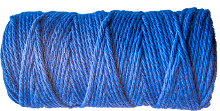 cotton cord blue
