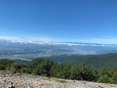 三方ヶ峰からの展望
