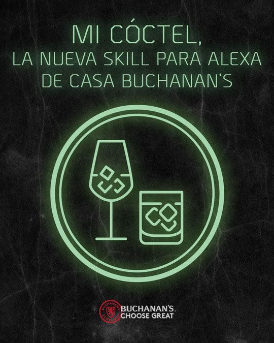 Buchanan's lanza 'MI COCTEL' , el primer skill de coctelería en México para Alexa de Amazon