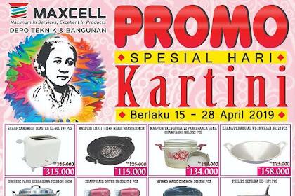 Katalog Promo Maxcell Depo Teknik Bangunan 15 - 28 April 2019