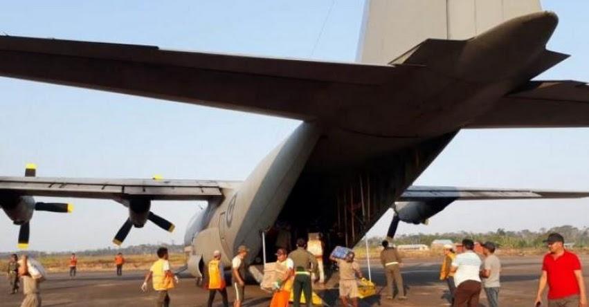 QALI WARMA: Midis y Mindef trasladan vía aérea 11 toneladas de alimentos para ser distribuidos en instituciones educativas de Purús - www.qaliwarma.gob.pe