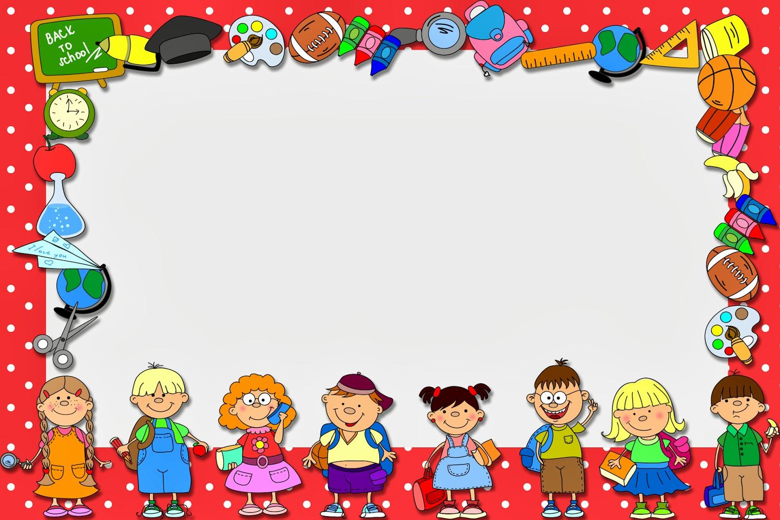 Mensagem Para Os Professores Do Ministério Infantil: Mini Kit Com Molduras Para Convites