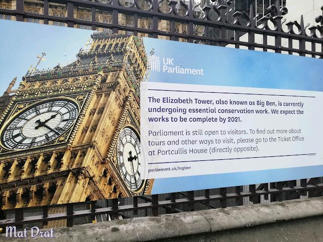 Closure Big Ben London