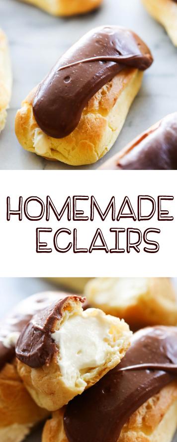 Homemade Eclairs