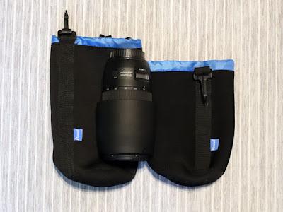 Potensic レンズポーチ XL&M + Canon EF70-300mm F4-5.6 IS II USM レンズ