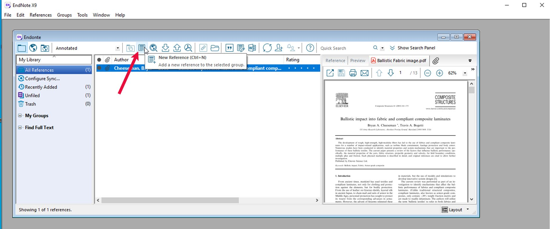 10. Reference Management by using EndNote