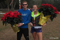 2012 Tannenbaum Trail 6K Cross-Country Race champions