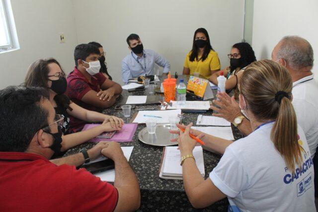 Prefeitura de Patos se reúne com estagiários do IFPB para iniciar atualização de mapeamento dos mercados e feiras da cidade