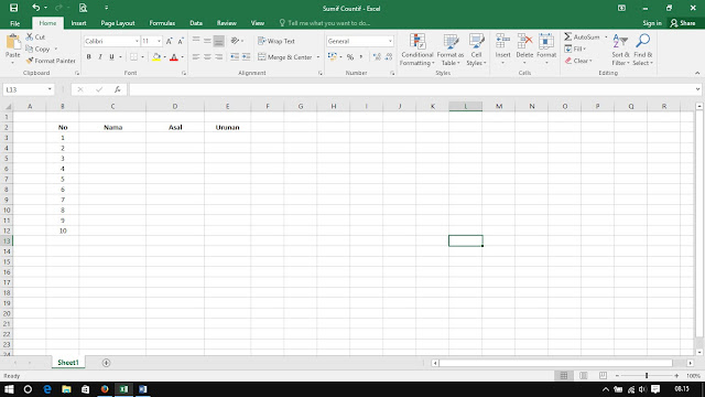 excel 2016 view