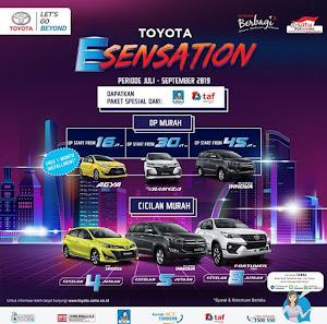 Promo Spesial THR Ramadhan Dp serta Angsuran Rendah Toyota Nasmoco Gombel Semarang.  Demak, Pati, Kudus, Purwodadi, Salatiga, Kendal, Jepara, Ungaran.