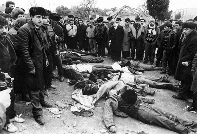 Stepanakert: los pogromos de armenios en Bakú en 1990 fueron genocidio