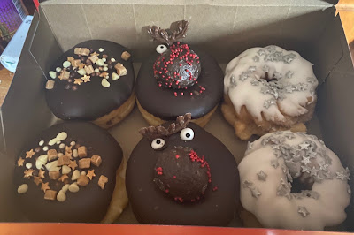 Tim Horton's Christmas Doughnuts 2020