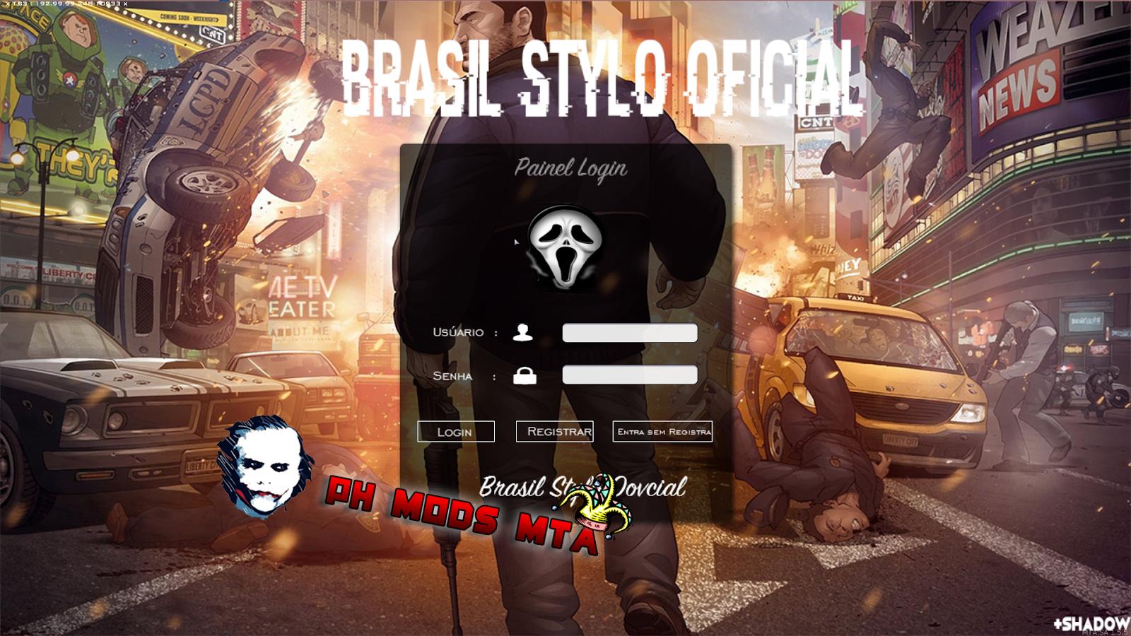 c6889ae63e MTASA - PAINEL DE LOGIN - MTA Brasil