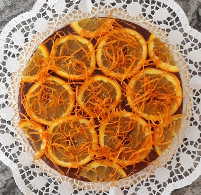 Aranciotta, la torta ghiotta, fatto da nostro amico Carlo