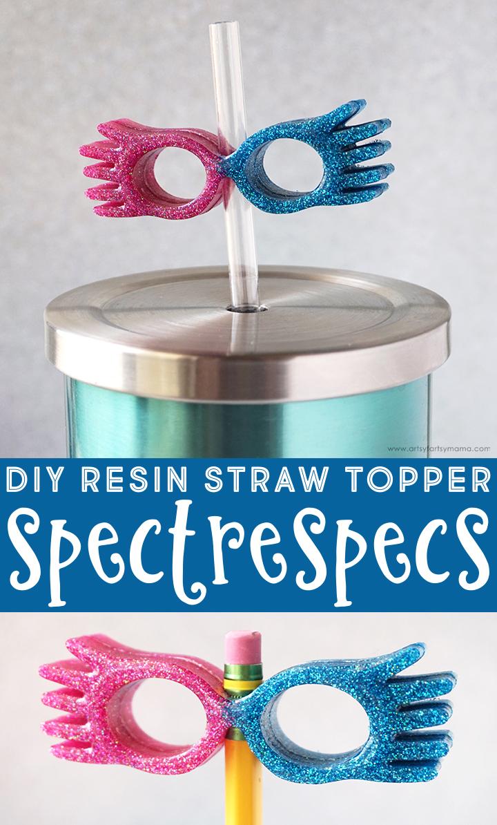 DIY Luna Lovegood Spectrespecs Straw Topper