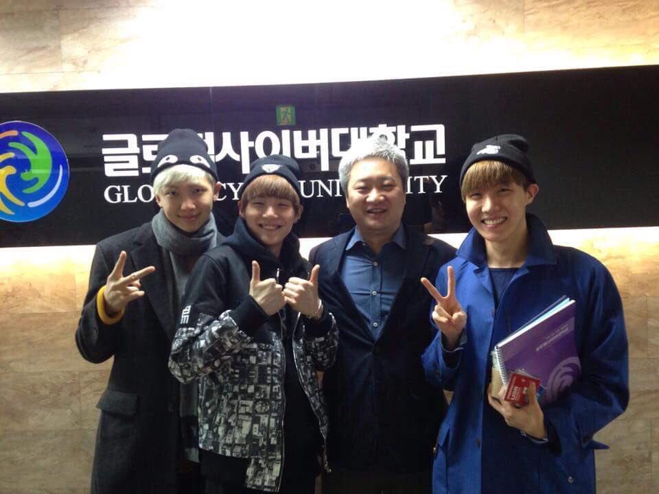 BTS - Rap Monster has attended University | BTSTAN