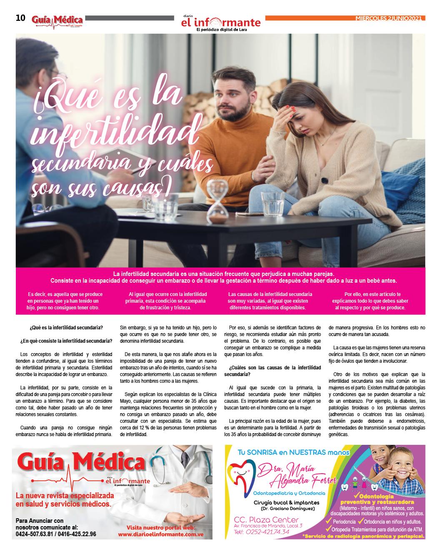 GUÍA MÉDICA EI INFORMANTE - Nº4 - 02 - 06 - 2021