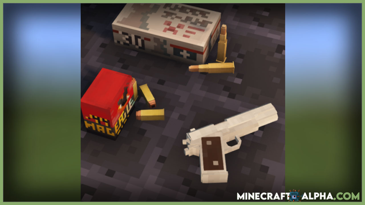 Timeless And Classics Mod 1.16.5 (Realistic Old Guns For Minecraft)