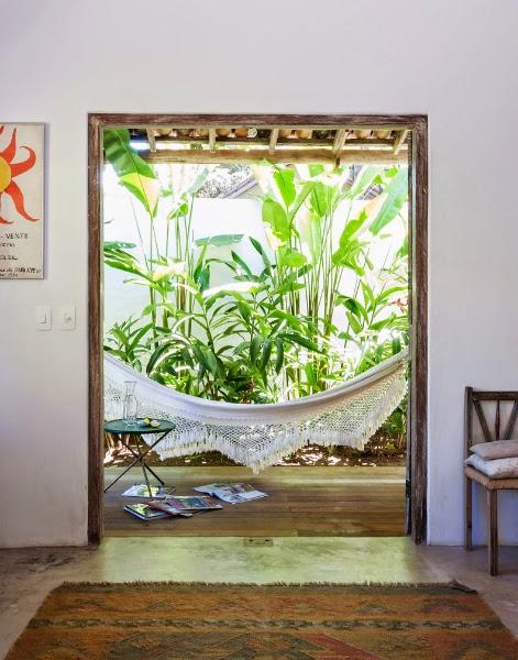Casa de praia brasileira