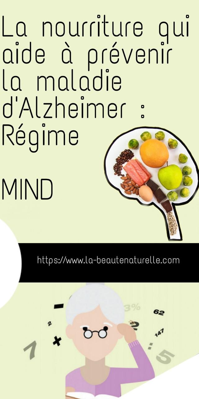 La nourriture qui aide à prévenir la maladie d'Alzheimer : Régime MIND
