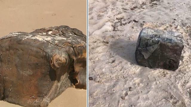 Caixas 'misteriosas' voltam a aparecer em praias da Paraíba