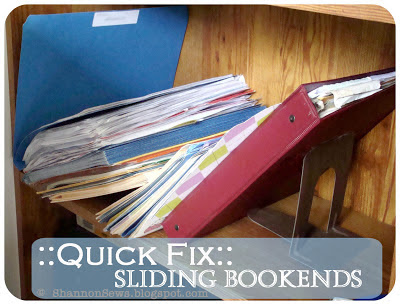 how to stop bookends from sliding
